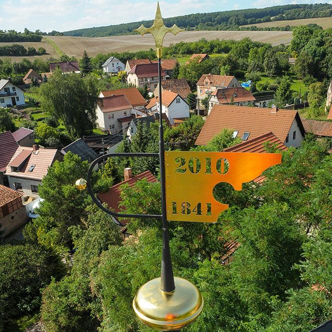 Gemeinde Südharz - Blick vom Kirchurm Dittichenrode