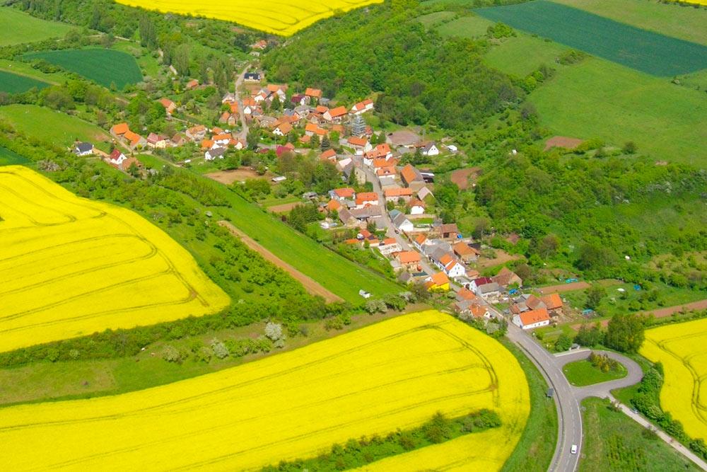 Gemeinde Südharz - Dittichenrode Luftbild