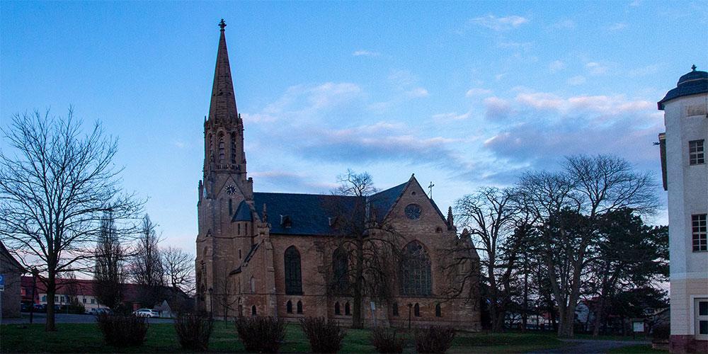 Gemeinde Südharz - St. Trinitatis Kirche Roßla