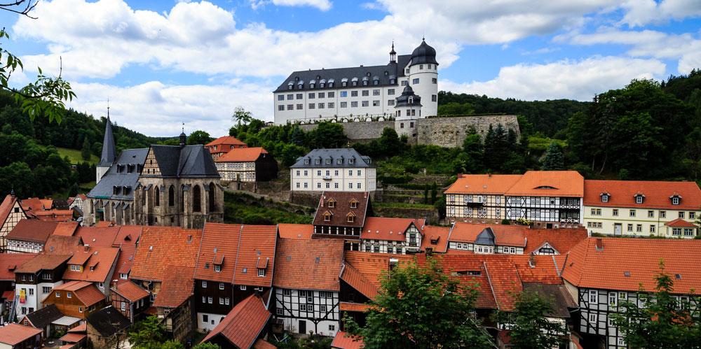 Gemeinde Südharz - Stolberg Schloss Sommer