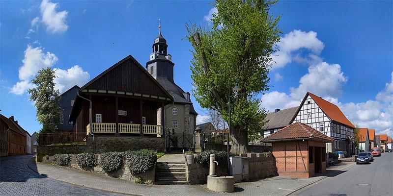 Gemeinde Südharz - Schwenda Dorfplatz