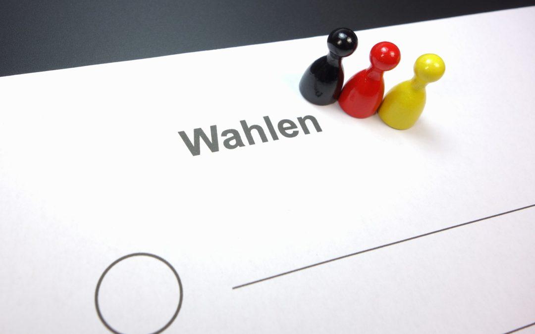 Übersicht zur Bundestagswahl am 26. September 2021 in der Gemeinde Südharz