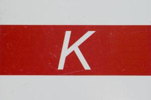 Wegmarkierung Karstwanderweg Gemeinde Südharz